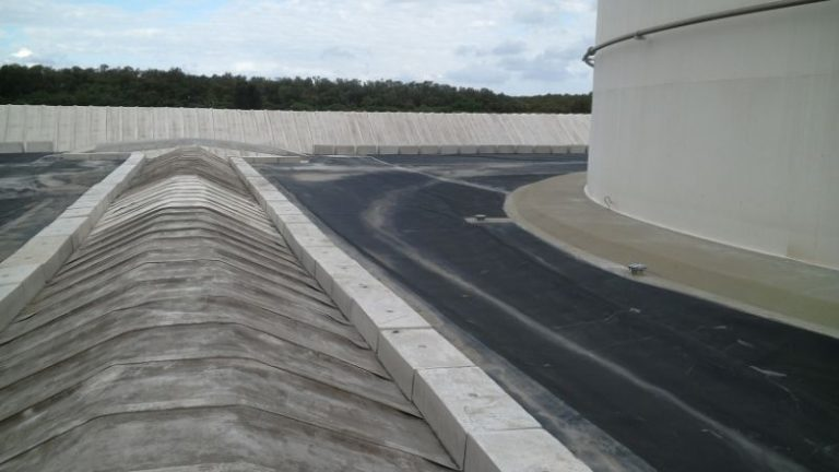 2. Internal Bund Wall - Secondary Contamination Tanks - Merit Linings
