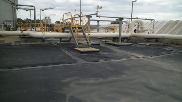 3. Sealing to concrete applications - Secondary Contamination Tanks - Merit Linings